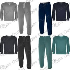 Mens Jogging Pants Sweatshirt Jogsuit Loungewear Gymming Top Bottom Tracksuit