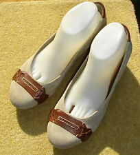 Clarkss Genova Alpine Stone Suede Court Shoes Size 7 New Without Box