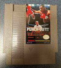 Mike Tyson's Punch-Out Nintendo 1987 NES Cartridge