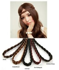 Hairband Plait Headband braided pigtail Hair accessories Artificial 5 Colors