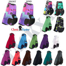 4 PACK CLASSIC EQUINE LEGACY SYSTEM FRONT REAR HIND HORSE SPORT BOOTS LRG/MED/SM
