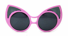 Cat Eye Oversized Sunglasses Women Vintage Fashion Retro Designer