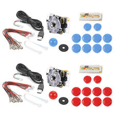 Zero Delay Arcade USB Encoder Joystick Kit for Mame Jamma PC Fighting Games