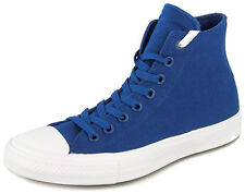 New Men's Converse Chuck Taylor All Star Ii Hi Blue/white Footwear Hi-top Sneake