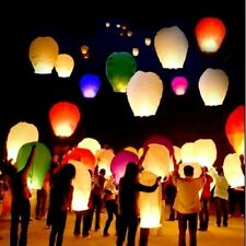 10pcs Flying Wishing Lamp Chinese Lantern Sky Lanterns Air Kongming Lantern