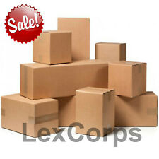 SHIPPING BOXES Mailing Storage Carton Moving Delivery Packing Move Cardboard Box