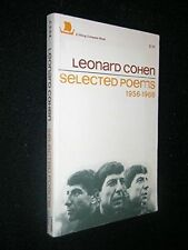 USED (GD) Leonard Cohen: Selected Poems 1956-1968 by Leonard Cohen