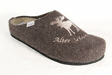 Tofee Men's Slipper Clogs Sabot brown new