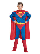 Superman childs deluxe muscle chest costume