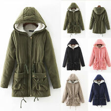 Thicken Warm Winter Coat Womens Hooded Parka Overcoat Long Hoodie Jacket Outwear