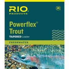 Rio Products Fly Fishing Powerflex Trout Knotless Leader
