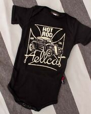Hotrod Hellcat Norcal Onesie Romper Baby Rockabilly Car Tattoo Art Cool Gift Fun