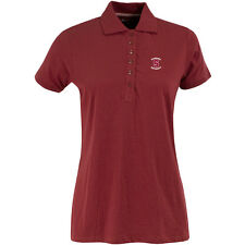 Antigua Women's Stanford Cardinal Spark 100% Cotton Washed Jersey 6-Button Polo