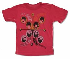 The Beatles Trunk LTD Get Back Don't Let Me Down Red Kids Youth T Shirt NEW