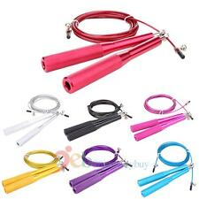 Speed Skipping Skip Adjustable Jump Rope Boxing/Gym/Jumping/Fitness Exercise