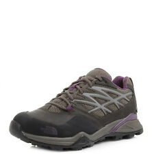 Womens The North Face Hedgehog Hike GTX Brown Purple Walking Shoes UK Size