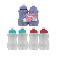 Packs of 2 Mini Water Bottle Sets Assorted Colors