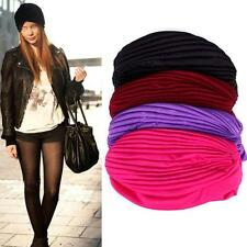 Lovely Women Unisex Indian Style Stretchable Turban Hat Hair Head Wrap Cap