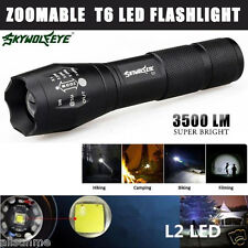 3500 Lumen 5 Modes CREE XM-L T6 LED Torch Powerful Camping Flashlight Lamp Light