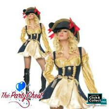 LEG AVENUE MARAUDER'S WENCH COSTUME Sexy Pirate Fancy Dress Outfit 83321