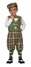 Retro Golfer Toddler Child Costume Halloween Caddyshack 24 mo 2T 3T 4T