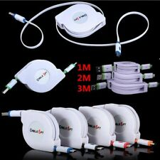 1-3M Retractable Fast Micro USB Data&Sync Charger Charging Cable For Cell Phone