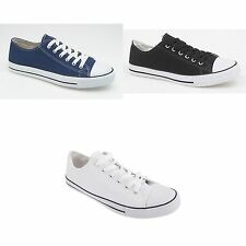 Dek Mens Lace To Toe Summer Casual Canvas Leisure Shoes /Sneakers Sizes 7-13