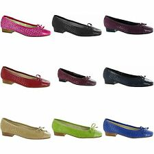 Riva Andros Womens/Ladies Casual Fashion Suede Ballerina/Ballet Flats/Shoes