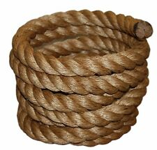 Fitness Climbing Manila Rope Boat  Twisted Heavy Duty Exercise 1-1/2 inch.x50ft