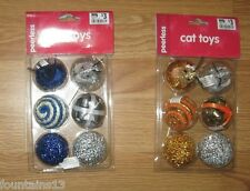 CAT TOYS BALLS MICE 6 pieces NEW Kitty Toy