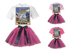 """""""Sheriff Callie"""" Personalized White or Pink T-Shirt & Pink&BlackTutu-NEW"""