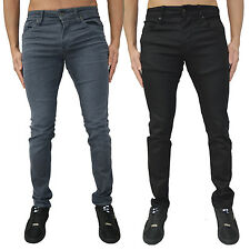 Mens Jack & Jones Skinny Slim Fit Jeans Designer Stretch Denim Stylish Pants New