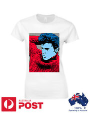 Elvis Presley Pop Art Womens T-Shirt