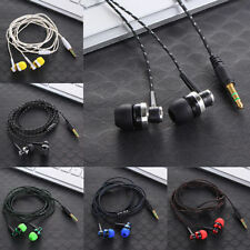 3.5mm In-Ear Stereo Earbud Headphone Earphone Headset for Samsung S6 S7