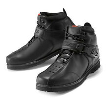 NEW ICON SUPERDUTY 4 BLACK LEATHER STREET MOTORCYCLE ADULT BOOTS SHOES