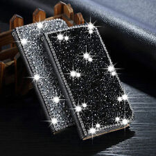 Rhinestone Bling Diamond Wallet Leather Card Stand Case Cover for iPhone 6 6S +