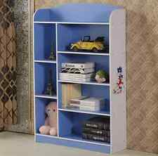 Multi-Layers Children unit display kids book shelf Toy storage stand-Five Colour