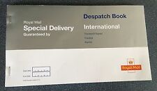 ROYAL MAIL SPECIAL DELIVERY DESPATCH BOOK & 100 FLAT SPECIAL DELIVERY LABELS