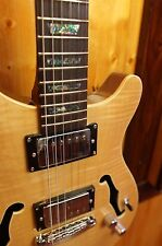 Wolf WPRS 200F Natural Electric Guitar w/ Gig Bag
