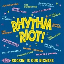 Rhythm Riot: Rockin' Is Our Bizness Various Artists Audio CD