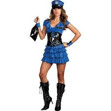 BRAND NEW Sexy Police Cop DELUXE ADULT LATE NIGHT PATROL COSTUME Sizes S, M, L
