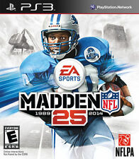 MADDEN NFL 25 (Sony PlayStation 3, 2013,Complete)