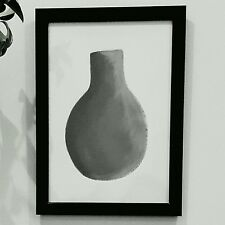 Original Artwork Print Acrylic Grey Ornament Contemporary Unframed