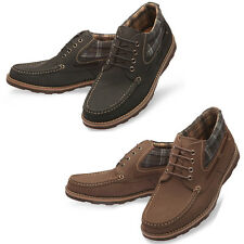 Mooda Mens Leather Walker Shoes Casual Formal Oxfords Dress Shoes Camping UK
