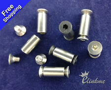 """0.53"""" (13.5mm) Stainless steel Knife Handle Screw Suitable for 5mm hole"""