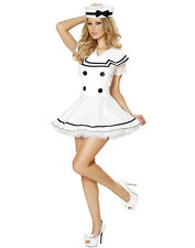 Sexy Sailor Maiden Costume black white sailor collar Cosplay dress Sailor outfit