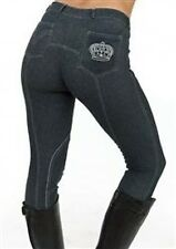 NEW TAG SHERWOOD FOREST JODHPURS/BREECHES DENIM LOOK LADIES ALL SIZES