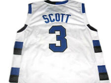 Lucas Scott 3 One Tree Hill Series Ravens White Basketball Jersey Adult New