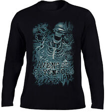 Avenged Sevenfold Chained Skeleton T Shirt OFFICIAL Long Sleeve S M L XL XXL NEW
