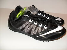 NEW MENS NIKE ZOOM RIVAL S 7 TRACK FIELD SPRINT SPIKE SHOES BLACK 616313-001